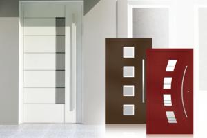 Dizajnové hlinikové dvere