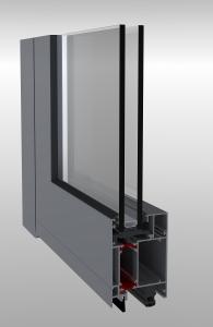 Hliníkové dvere Hercules 67