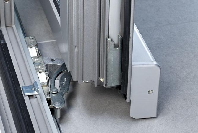 Hliníkový sklopno-posuvný systém PSK