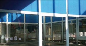 Hliníkové interierové dvere, presklenia
