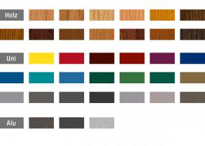 Rehau farebné prevedenie okien