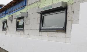 Montáž okien na exterierovú rovinu múru