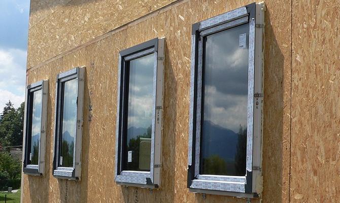 Predsadená montáž plastových okien Rehau Geneo 86
