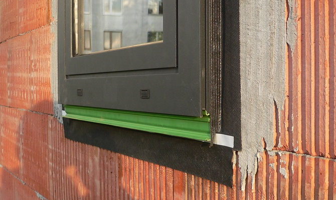 Predsadená montáž okien