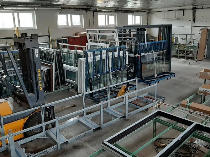Výroba okien 2